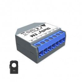 Ampèremètre Wi-Fi 50A compatible avec pinces ampèremétriques - Shelly