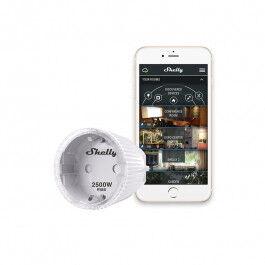 Mini prise relais intelligente Wi-Fi compatible Google Home et Alexa - Shelly