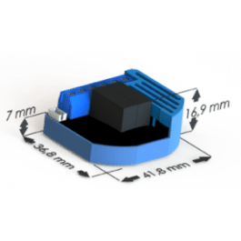 Module Volets Roulants Z-Wave Plus encastrable : dimensions