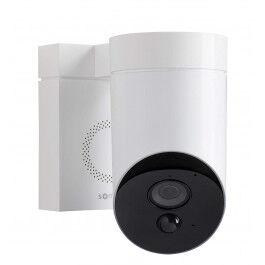 Caméra de surveillance extérieure blanche  - Somfy