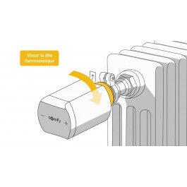 Tête thermostatique compatible IO-Homecontrol - Somfy