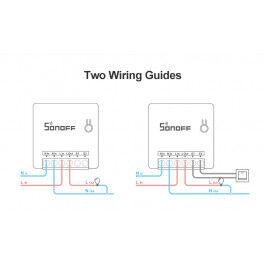 Micromodule ON/OFF WiFi avec deux entrées interrupteur format Mini - Sonoff