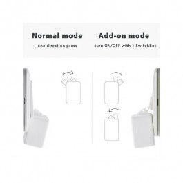 Bouton connecté bluetooth compatible Jeedom couleur blanc - SWITCHBOT