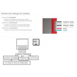 Module WiFi de commande portail et garage - Thomson