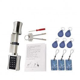 Serrure de porte bluetooth 30x30 avec clavier à code et lecteur RFID - TTLock