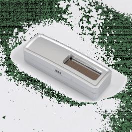 Sonde de température et hygrométire sans piles EnOcean métal - Ubiwizz