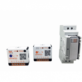 Boîtier rail din pour module connecté EnOcean - Ubiwizz