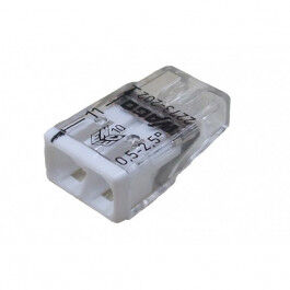 Connexion automatique 2 bornes - Wago