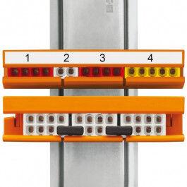 Adaptateur de fixation pour série 2273 - WAGO