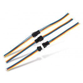 Lot de 3 connecteurs pour bandeau de led RGB - Wizelec