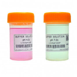 Kit solution d'étalonnage pour sonde pH (solution tampon) - Wizelec