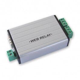 Carte de contrôle deux relais sur Ethernet - Wizelec