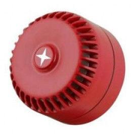 Sirène d'incendie cablée pour l'intérieur et l'extérieur (103 dB) - Wizelec