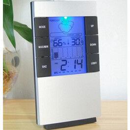 Mini station météo avec rétro-éclairage - Wizelec