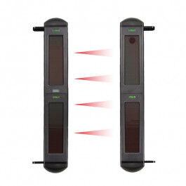 Barrière infrarouge RF avec alimentation solaire 4 canaux gamme SolarAlarm - Wizelec