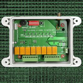 Récepteur 8 voies pour système d'alarme solaire gamme SolarAlarm - Wizelec