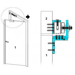 Cornière en Z pour installation ventouse magnétique  - YouFores