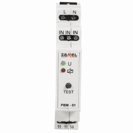 Module relais bistable 230VAC format Rail DIN - Zamel