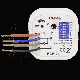 Relais 230V encastrable multifonction avec temporisation - Zamel