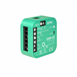 Module encastrable 2 canaux WiFi pour serrure électromagnétique gamme Supla - Zamel