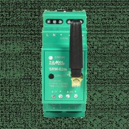 Module WiFi format RAIL DIN 2 canaux pour volets roulants gamme Supla - Zamel