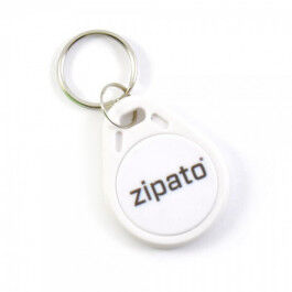 Badge RFID sans contact blanc - Zipato