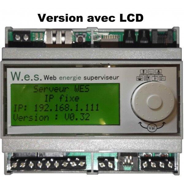 Serveur de suivi d/énergie Web energie superviseur v2 avec /écran LCD inclus
