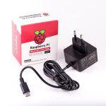 Alimentation Officielle Noire 15.3W USB-C pour Raspberry Pi 4 - Raspberry