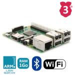 Raspberry Pi 3 modèle B MicroSD WiFi et Bluetooth
