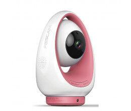 Caméra FosBaby Rose pour bébé avec détection température, son et mouvement - Foscam