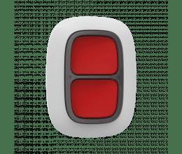 Double bouton d'urgence Blanc pour alarme connectée - Ajax Systems