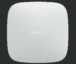 Centrale d'alarme professionnelle RJ45 + GPRS version 2 blanche - Ajax Systems