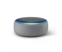 Assistant vocal Amazon Echo DOT Génération 3 Gris - Amazon