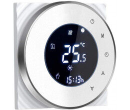 Thermostat connecté compatible Alexa et Google Home couleur blanc - BECA