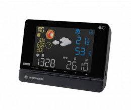 Station météo radio controlée avec prévision sur 2 jours et affichage couleur - Bresser