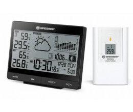 Station météo sans fil avec graphique de pression atmosphérique - Bresser