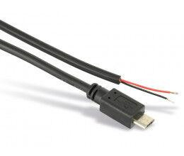 Câble d'alimentation 2 fils vers micro-USB pour Raspberry Pi