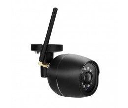Caméra extérieure Wi-Fi HD 1080p noire - Chacon
