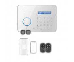 Kit d'alarme domestique avec panneau tactile LCD et module GSM - Chuango