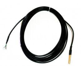 Sonde de température 1-Wire étanche, 5 mètres sans connecteur