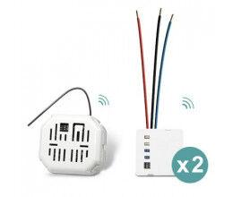 Pack Start va-et-vient sans fil 2 Circuits lumineux - Edisio