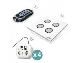 Pack Ouvrant Plus commande sans fil de 2 Volets - Edisio