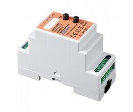 Adaptateur euFIX DIN pour Fibaro FGS-214 (avec boutons) - Eutonomy