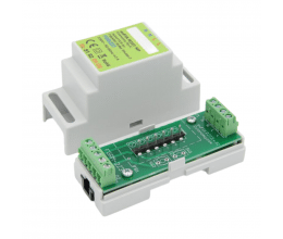 Adaptateur euFIX DIN pour Fibaro FGR-223 (sans boutons) - Eutonomy