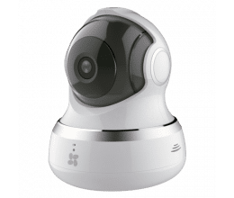 Caméra WiFi 720p motorisée avec vision nocturne 10 mètres - Ezviz