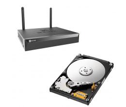 Enregistreur NVR Wi-Fi 5MP 4 voies X5S avec disque dur 1To - EZVIZ