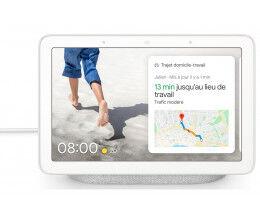 Enceinte intelligente Google Nest Hub Galet avec adaptateur FR - Google