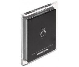 Lecteur de badge RFID Mifare avec finition transparente- Hikvision