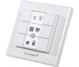 Télécommande murale sans fil type interrupteur avec 6 boutons - Homematic Ip
