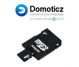 Carte Micro SD 8Go avec Domoticz pour GreenIQ (avec adaptateur)